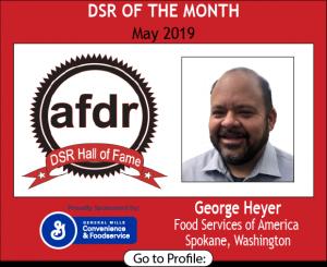 George Heyer, Food Services of America, May 2019