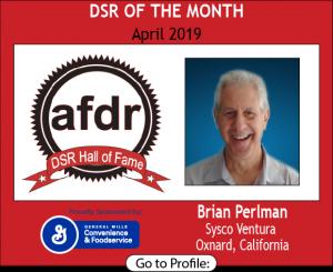 Brian Perlman, Sysco Ventura, April 2019