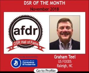 Graham Teel, US Foods, November 2018