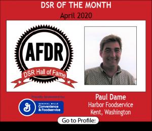 Paul Dame, Harbor Foodservice, April 2020