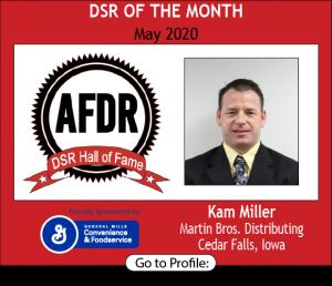 Kam Miller, Martin Bros. Distributing Inc., May 2020