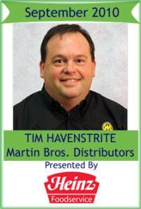 September 2010: Tim Havenstrite, Martin Bros.