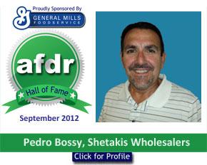 September 2012: DSR of the Month Pedro Bossy, Shetakis Wholesalers -- Las Vegas