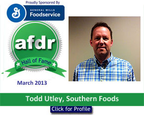 March 2013: DSR of the Month Todd Utley, Southern Foods, Bowling Green, KY