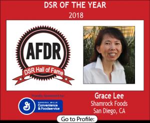 February 2018, Shamrock Foods, Grace Lee, DSR of the Month
