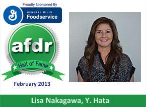 February 2013: DSR of the Month Lisa Nakagawa, Y. Hata