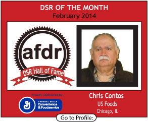 February 2014, Chris Contos, US Foods, IL