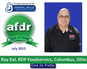 July 2012: DSR of the Month Ray Eal, RDP Foodservice, Columbus, Ohio