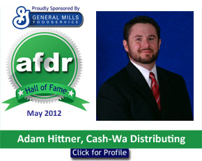 May 2012: DSR of the Month Adam Hittner, Cash-Wa Distributing