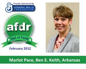 February 2012: Marlot Pace, Ben E. Keith, Arkansas
