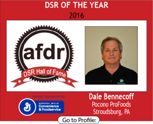 2016 DSR of the Year AFDR Hall of Fame