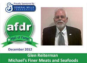 December 2012: DSR of the Month, Glen Reiterman, Michael's Finer Meats and Seafoods