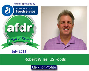 July 2013, US Foods, Robert Wiles, DSR of the Month