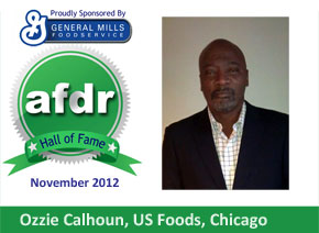 November 2012: DSR of the Month Ozzie Calhoun, US Foods, Chicago