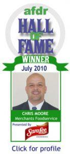 July 2010: Chris Moore, Merchants Foodservice