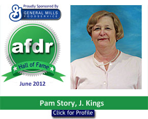 June 2012: DSR of the Month Pam Story, J. Kings