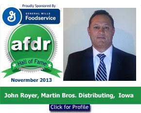 November 2013, John Royer, Martin Bros., Iowa