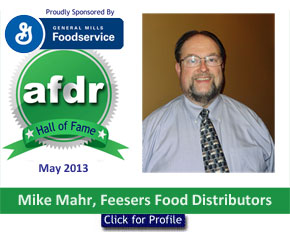 May 2013: DSR of the Month, Mike Mahr, Feesers' Food Distributors