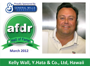 March 2012: Kelly Wall, Y.Hata and Co. Limited, Hawaii