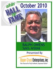 October 2010: Ralph Owens, Sysco - AZ